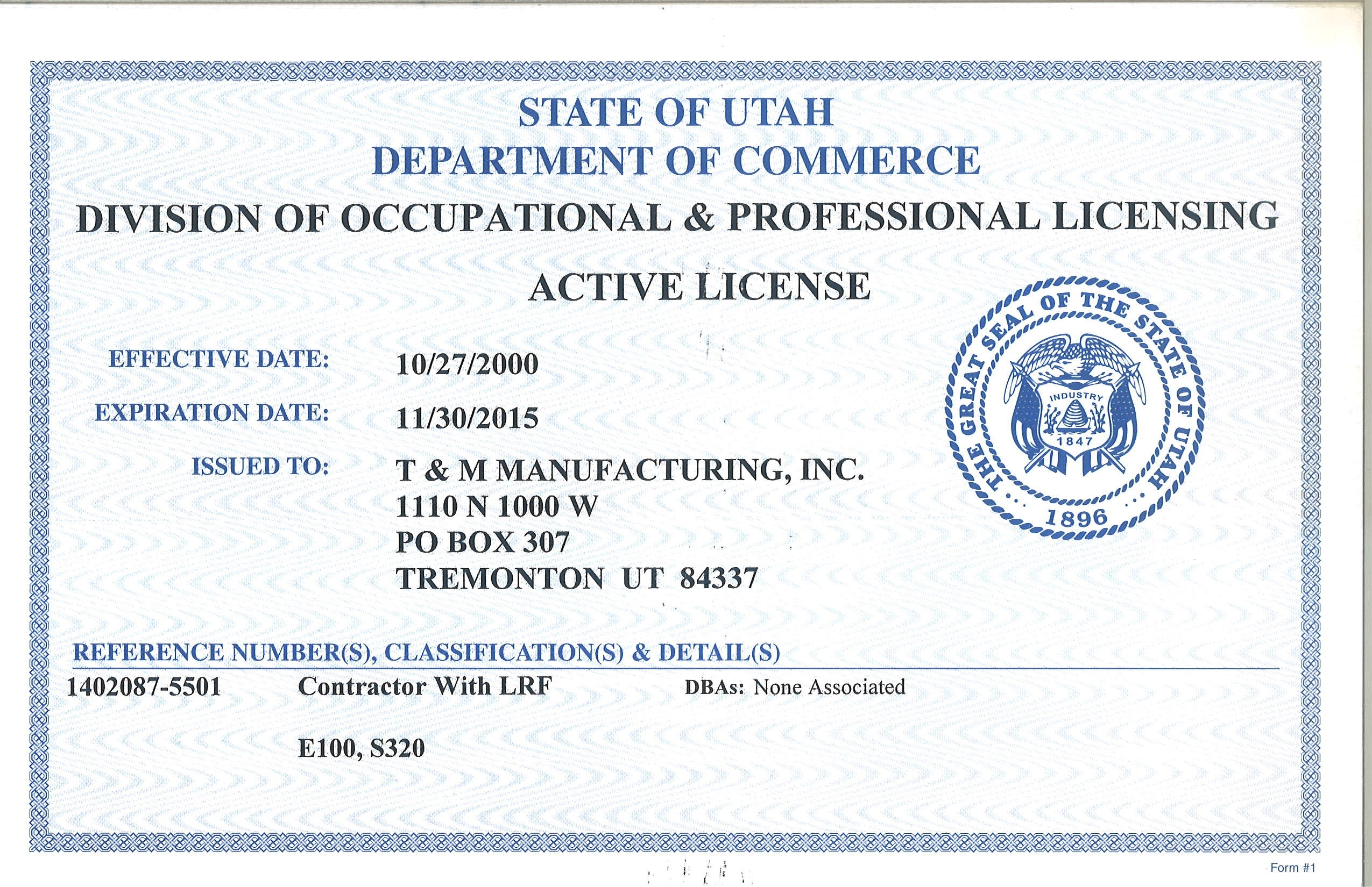 Salt Lake County Building Permit Requirements
